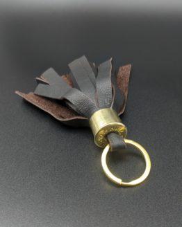 Shotgun Tassel Key Ring - Leather